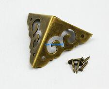 8 Pieces 30mm Antique Brass Jewelry Box Corner Gift Box Corner Protector