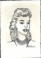 Roy Lichtenstein 'Still life with portrait' handsigned detail study 1974 - COA