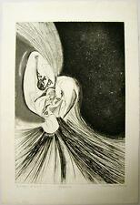 Carlos Suenos Intaglio A Buril Organico Signed 1992 Print Puerto Rico