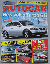 Autocar 26/7/2006 featuring  BMW Z4 Coupe,Porsche Cayman S, TVR Sagaris,Renault
