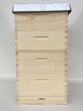 Langstroth 2/3 Beute,Bienenkasten inkl 40 Rähmchen gedrahtet,geöst,Absperrgitter