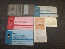 1972 Oldsmobile Delta 88 & Royale Ninety Eight 98 Original Owner Owner's Manual