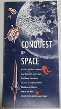 Vintage 1958 WHITEHEAD METAL PRODUCTS Conquest Of Space Booklet