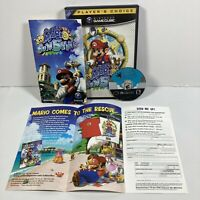 Super Mario Sunshine Nintendo Gamecube Complete W/ Manual Authentic- Tested