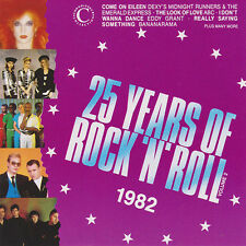 VARIOUS - 25 YEARS OF ROCK 'N' ROLL 1982 - CD New Unplayed