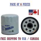 Fram Defense Engine Oil Filter , DL3614 pack of 6 ,FREE SHIPPING