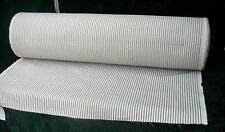 "Chemtick Blue and White Ticking 100% Soft Cotton Fabric Cloth 44"" x 150 Yards"