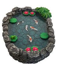 Miniature Fairy Garden Accessory -KOI Miniature Pond Figurine by GlitZGlam
