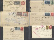 U.S., 1899-1952. Special Delivery Covers Accumulation (115)