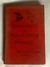 The Art of Retouching Negatives,Robert Johnson,1907 Hardback Book