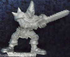 1988 Chaos Bloodbowl 2nd Ed Star Player Max Spleenripper Chainsaw Wielding Loony