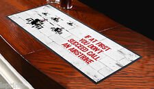 Banksy Call An Airstrike Bar Runner Ideal For Home Cocktail Party Pub Beer Mat