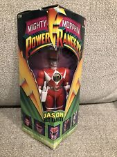 1993 Mighty Morphin Power Rangers Jason Red Ranger Action Figure Bandai CIB
