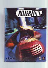 KILLER LOOP - PC GAME - ORIGINAL RARE BIG BOX - 2 DISCS - COMPLETE WITH AUDIO CD