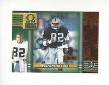 1999 Pacific Omega Copper #172 James Jett Raiders 03/99