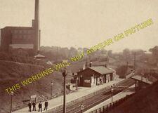 Bollington Railway Station Photo. Macclesfield - Poynton GCR + North Staffs (12)