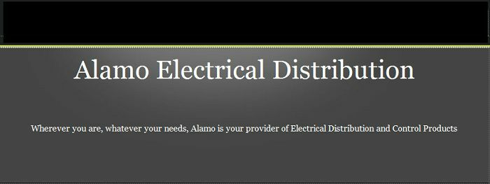 Alamo Electrical Distribution