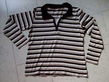 Figurbetonte Damen-Shirts mit Polokragen