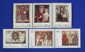 Z68 POLAND 1989 Paintings on stamps Mint NH