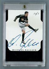 Michael Ballack 2015-16 Panini Flawless Soccer Autograph Auto Germany SP 1-OF-1
