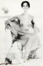 1960's Vintage SURREAL FEMALE NUDE Woman Breasts 16x20 Photo Art By SAM HASKINS