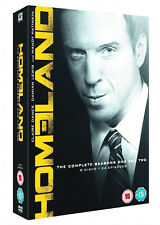HOMELAND SEASON 1 & 2 COMPLETE DVD COLLECTION BOX SET UK Release New Sealed R2