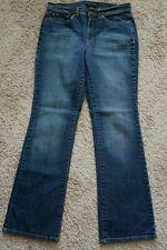 . Womens Jeans size 6 Avg. JEANSTAR Boot cut stretch blue denim