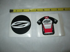 Zipp Decal Stickers - Set of 2 - individual cycling round stickers - New