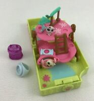 Littlest Pet Shop Teensie Figures 5pc Lot with Accessories LPS Mini Playset Toys