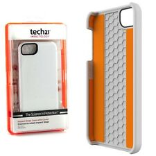Tech21 D30 Impact Hard Back Snap Case Cover iPhone SE White T21-1811 New