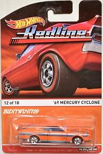 HOT WHEELS 2015 REDLINE '69 MERCURY CYCLONE #12/18