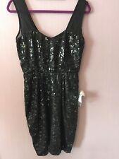 ASOS Black Sequin Dress NWT Size 6