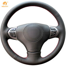 1 set Black DIY Leather Steering Wheel Cover for Suzuki Grand Vitara 2007-2013