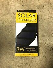 Sunen Flexible solar panel 5v Portable travel charger USB