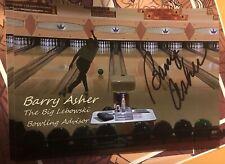 Barry Asher signed autograph The Big Lebowski Lebowski Fest Adviser Photo 100%