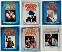 Vintage Doctor Who Files Magazine/Book Collection- Your Choice of 20+
