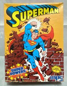 Superman Super Powers Model Kit   MPC 1984
