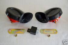 Dual Twin High/Low Tone Horn Klaxon for Honda Accord Civic CRX Jazz CR-Z CR-V