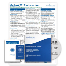 MICROSOFT OUTLOOK 2016 DELUXE Training Tutorial Course and Quick Reference Guide