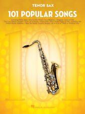 101 Popular Songs - Tenor Sax Book *NEW* Sheet Music