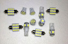 11PCSWhite LED Lights Interior Package T10 31mm Map Dome For Mercedes-Benz Mazda