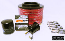 suits: TOYOTA HILUX TGN16R 2.7L PETROL 2TR-FE OIL AIR FUEL FILTER~s+ SPARK PLUGS