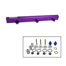 Aluminum Fuel Rail For Honda CIVIC INTEGRA DOHC B16 B18 B-SERIES FR008 Purple