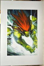 Street Fighter - BLANKA LIMITED EDITION PRINT Capcom Arnold Tsang art