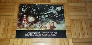 """""""Star Wars""""  George Lucas vintage original movie program"""