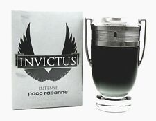 Invictus Intense by Paco Rabanne Cologne 3.4 oz. EDT Spray for Men. Sealed Box