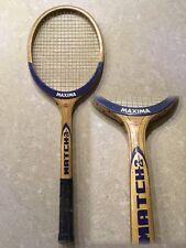 Racchetta MAXIMA MATCH 2 vintage In legno! Tennis