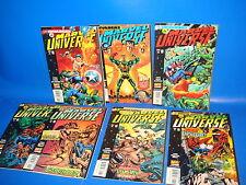 miniserie MARVEL UNIVERSE - 7 numeros edicion americana