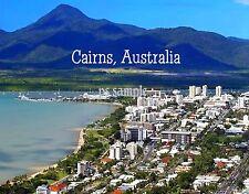 Australia - CAIRNS - aerial view - Travel Souvenir Fridge Magnet