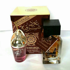 Oud Sharqia Perfume Spray for Women with Oud Wood Inside 80ml Sweet Floral Woody